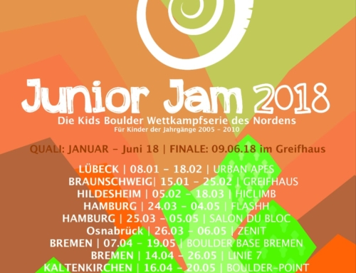 Junior Jam 2018, die Quali startet am 08.01.!
