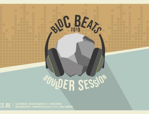 Die Bloc Beats Boulder Session ist im Jahr 2019 angekommen!