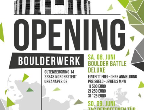 OPENING BOULDERWERK
