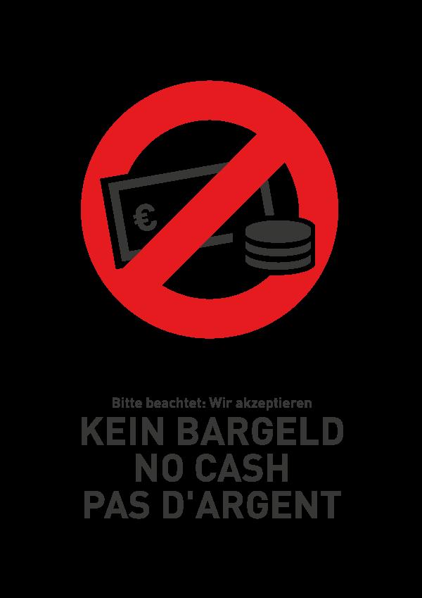 kein Bargeld